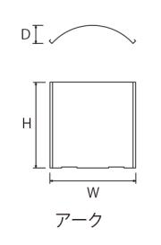 SUSヘアライン ウォールプレートCAD図